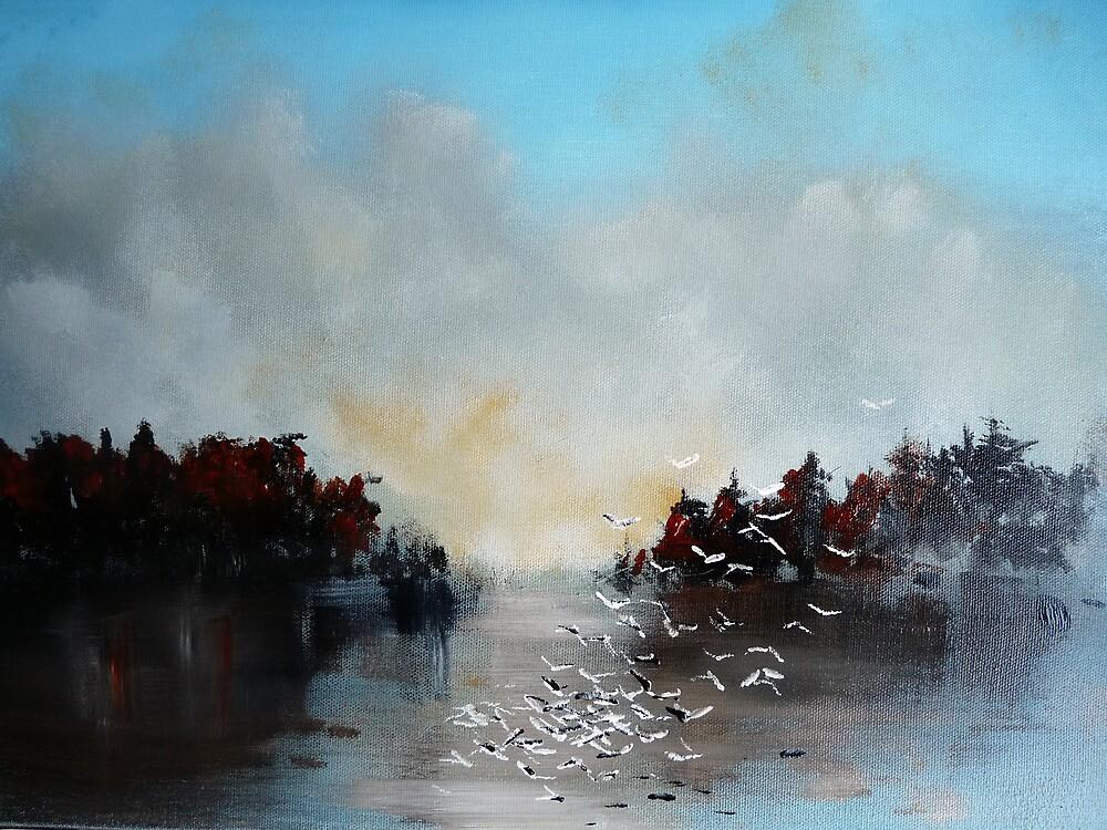 Flock by Afonso Azevedo Neves