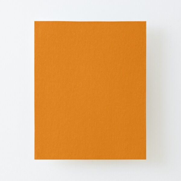 Dark Cheddar 15-1150 TCX   Pantone   Color Trends   New York   Fall Winter 2019 2020   Solid Colors   Fashion Colors   Canvas Mounted Print