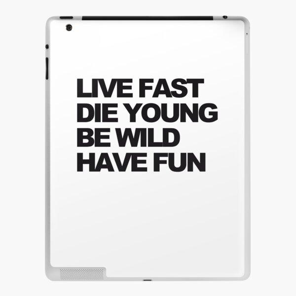 Vive rapido Vinilo para iPad