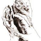 Hands by Aleksandra Kabakova