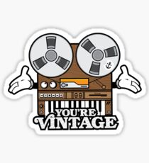 You're Vintage Sticker