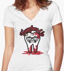 Toughen Up! Women's Fitted V-Neck T-Shirt