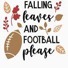 «Hojas caídas y fútbol por favor» de adametzb