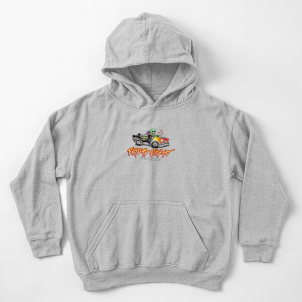 Friday Night with the Boys Kids Pullover Hoodie