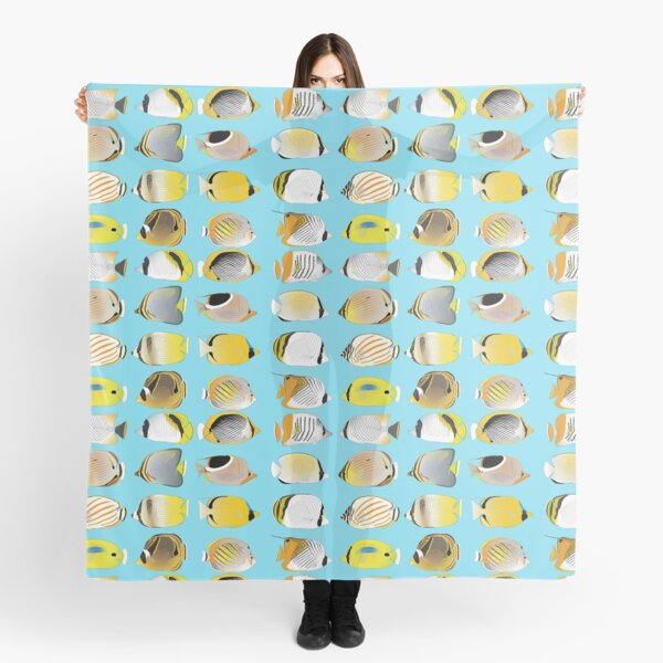 Butterflyfish Collection Scarf