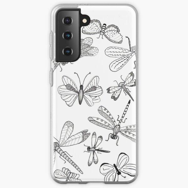 Dragonflies/butterflies  Samsung Galaxy Soft Case