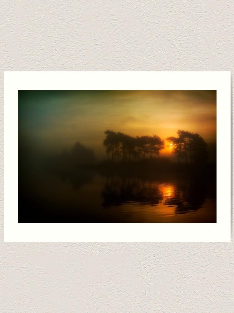Alternate view of Knapps Loch Sunrise Art Print