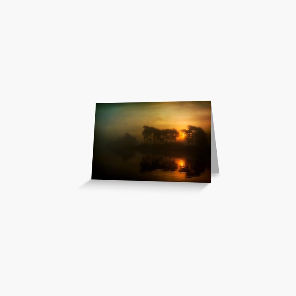 Knapps Loch Sunrise Greeting Card