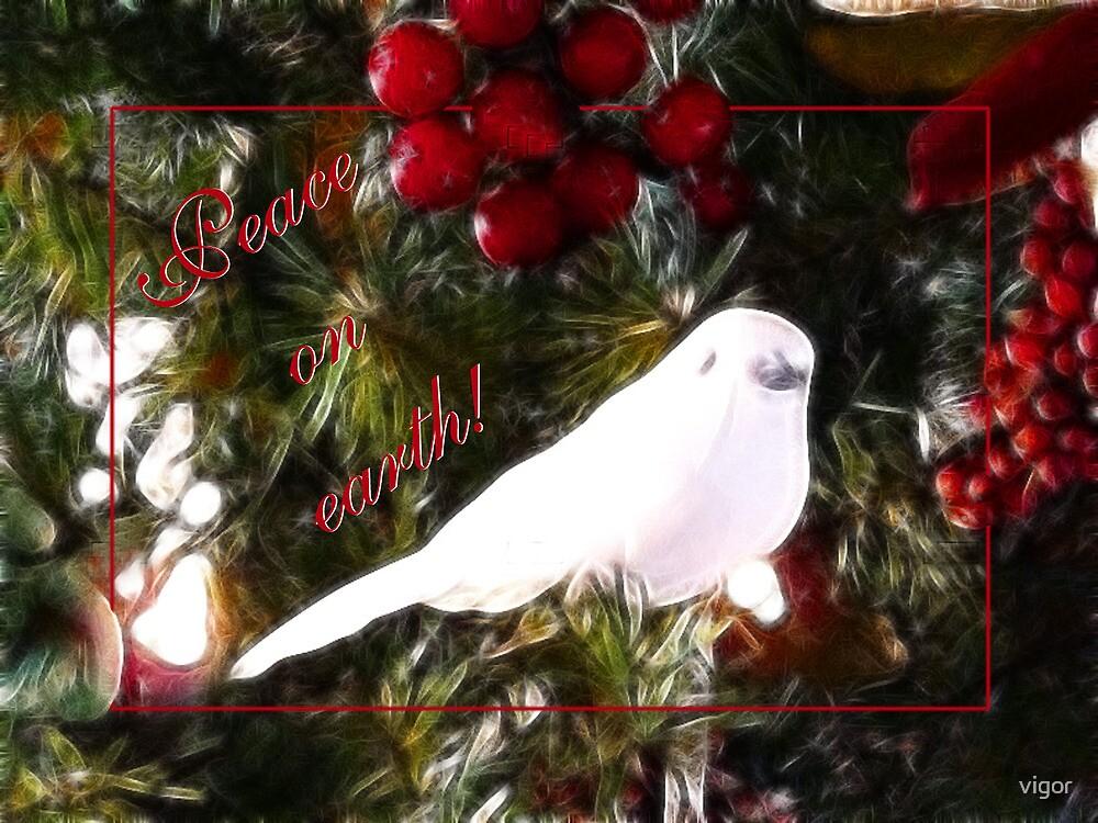 Peace on earth - card by vigor