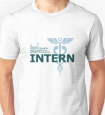 Seattle Grace Hospital - Intern Unisex T-Shirt