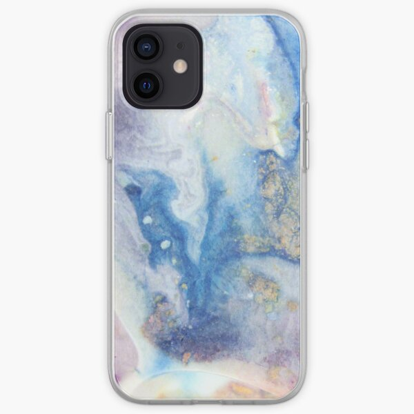 Moon Marble iPhone Soft Case