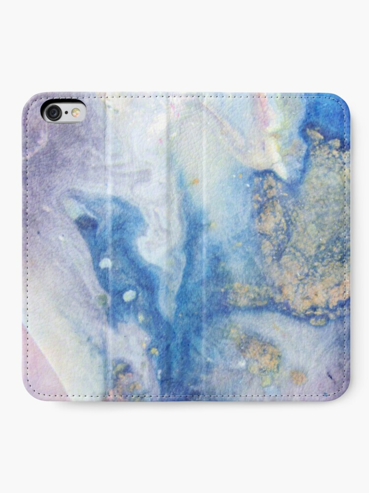 Alternate view of Moon Marble iPhone Wallet