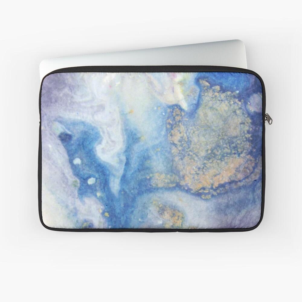 Moon Marble Laptop Sleeve
