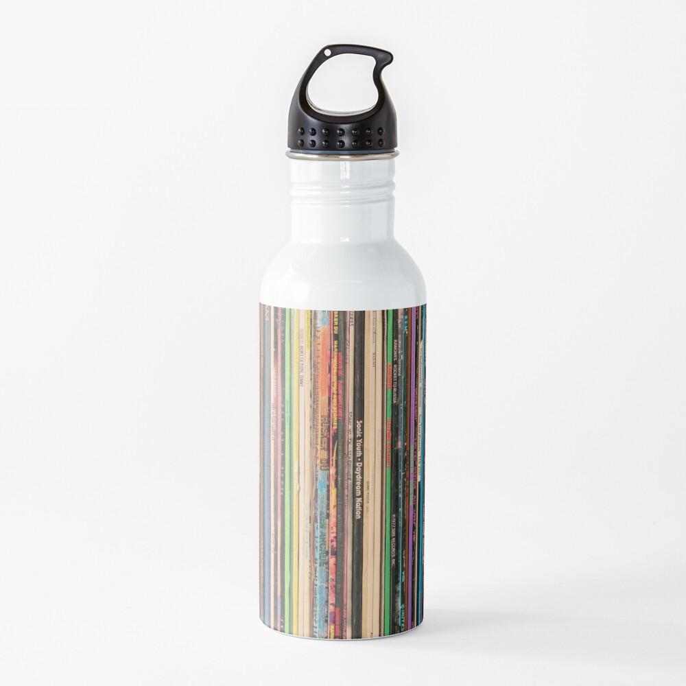 Classic Alternative Rock Records Water Bottle