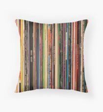 Classic Alternative Rock Records Floor Pillow