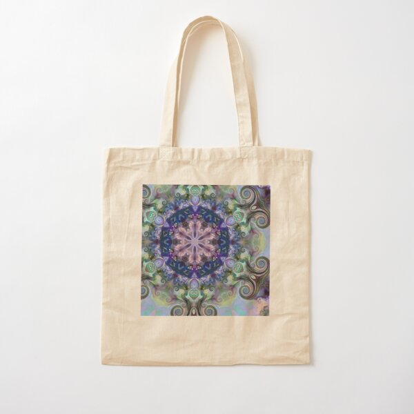 Coiled Reflections 8 Cotton Tote Bag