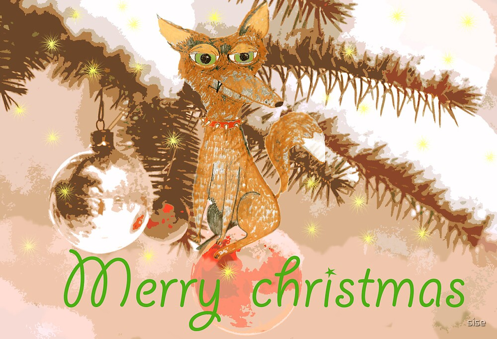 merry christmas by sise