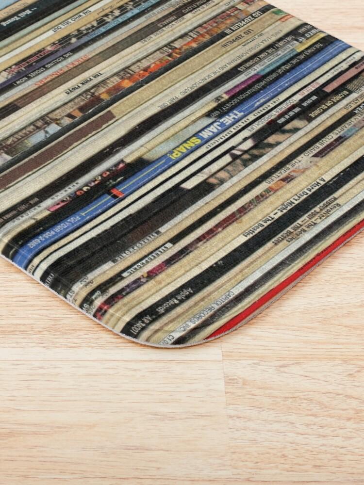 Alternate view of Classic Rock Vinyl Records  Bath Mat