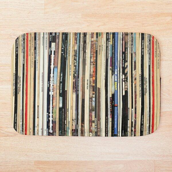 Classic Rock Vinyl Records  Bath Mat