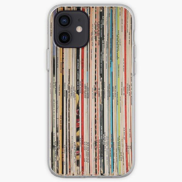 Blue Note Vinyl Records Funda blanda para iPhone
