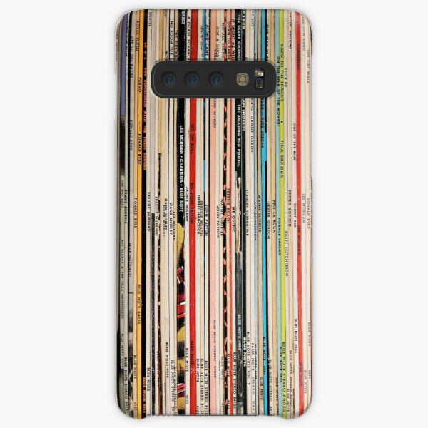 Blue Note Vinyl Records Funda rígida para Samsung Galaxy