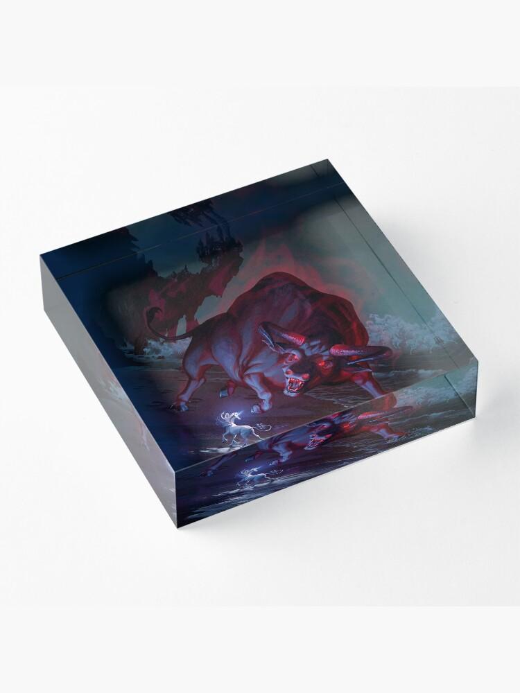 Alternate view of The Last Unicorn Acrylic Block