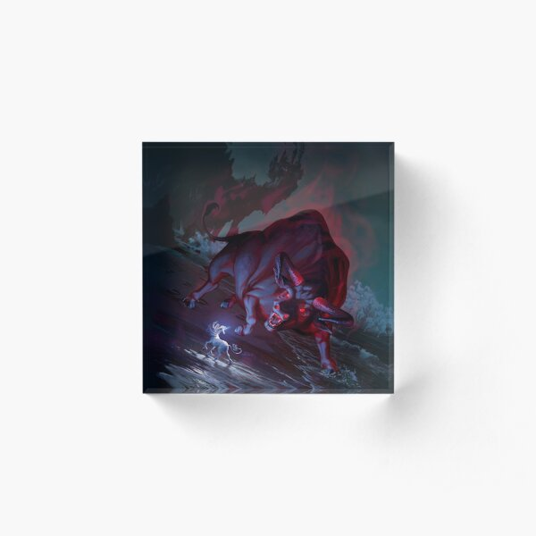 The Last Unicorn Acrylic Block