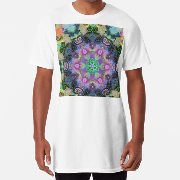 Coiled Reflections 5 Long T-Shirt