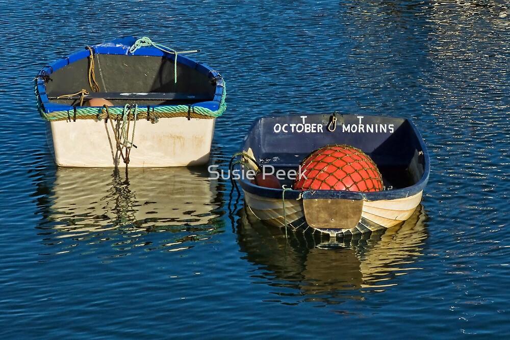October Morning ~ West Bay by Susie Peek