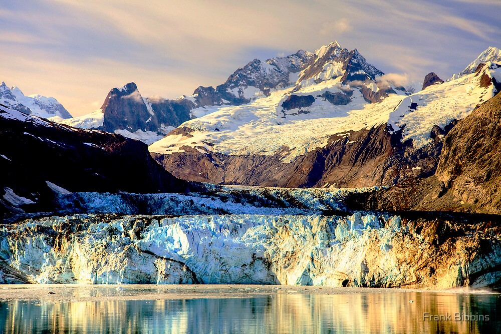 Johns Hopkins Glacier by Frank Bibbins