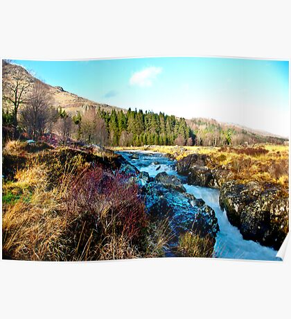 White Water on The River Duddon Poster