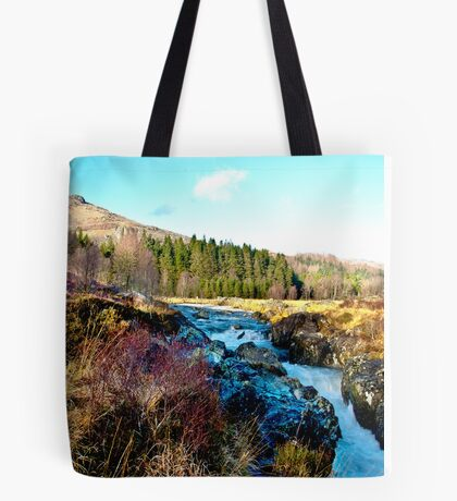 White Water on The River Duddon Tote Bag