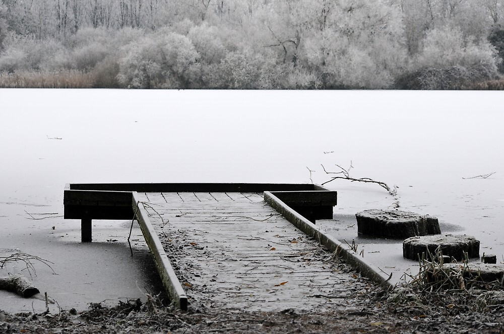 Frozen solid by Barry  Spear