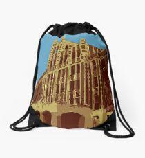 Waverly Hills Sanatorium Art Deco Drawstring Bag
