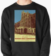 Waverly Hills Sanatorium Art Deco Pullover Sweatshirt