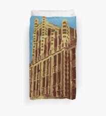 Waverly Hills Sanatorium Art Deco Duvet Cover