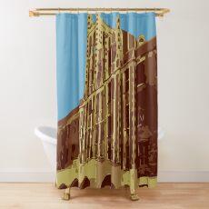Waverly Hills Sanatorium Art Deco Shower Curtain