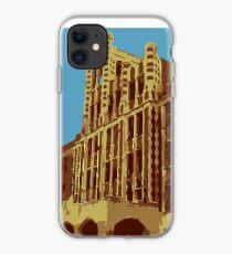 Waverly Hills Sanatorium Art Deco iPhone Case