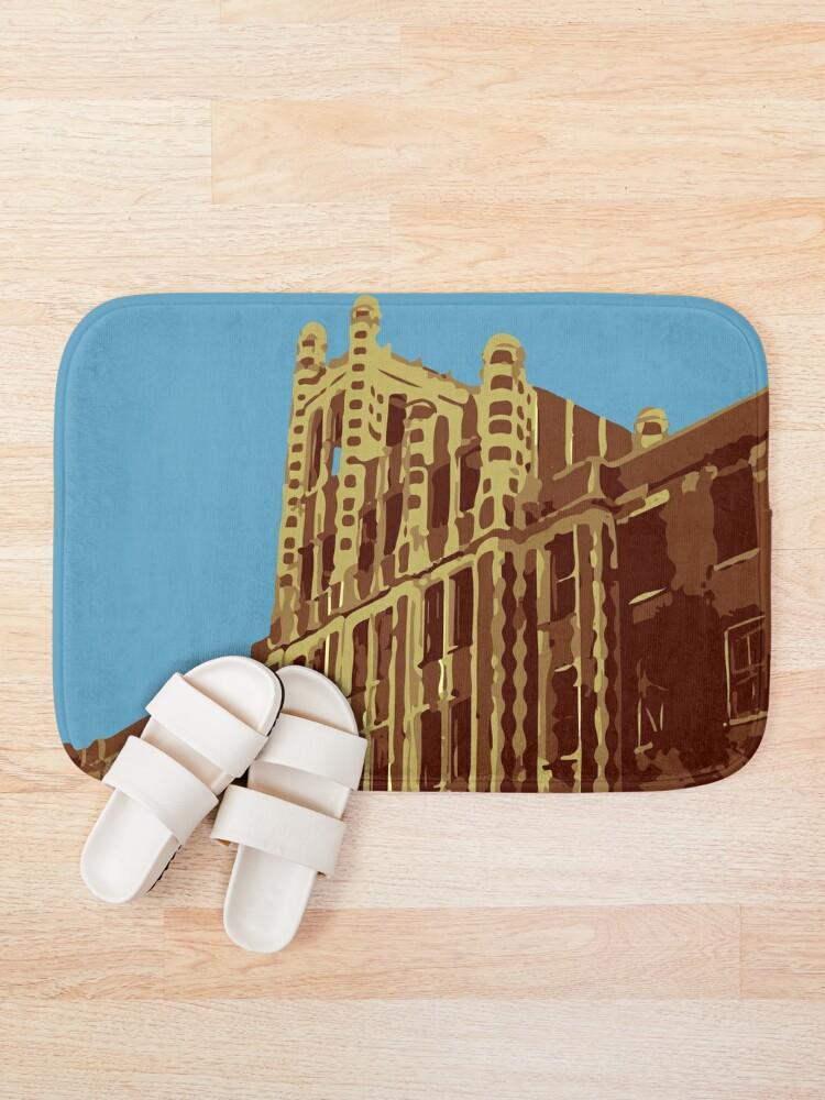 Alternate view of Waverly Hills Sanatorium Art Deco Bath Mat