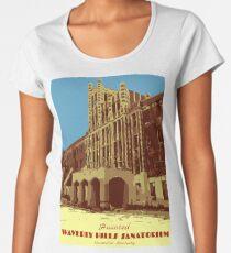 Waverly Hills Sanatorium Art Deco Premium Scoop T-Shirt