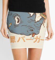 Rhino Burger Kanji Mini Skirt