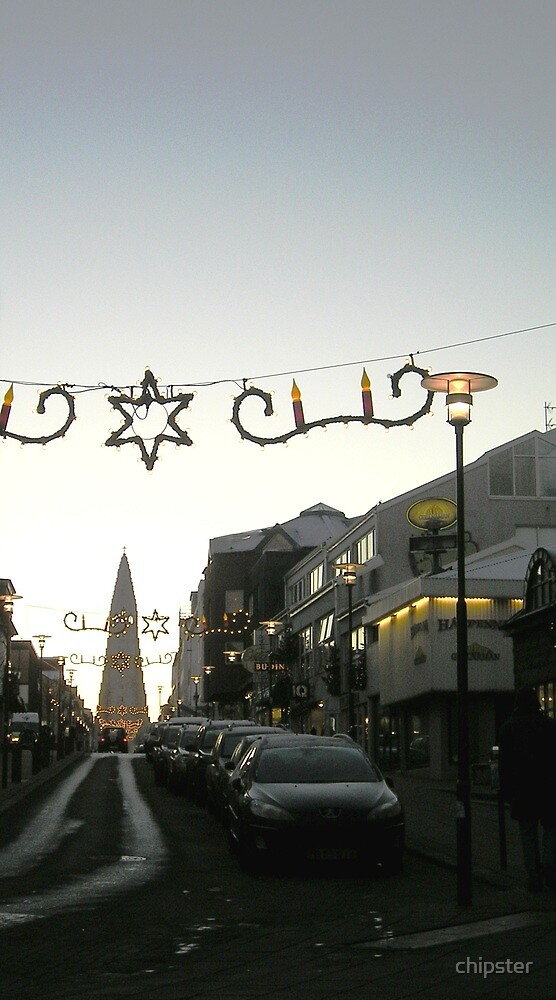 Christmas in Reykjavik by chipster