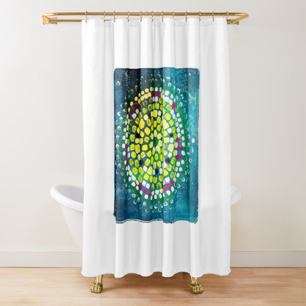Water Seed Shower Curtain
