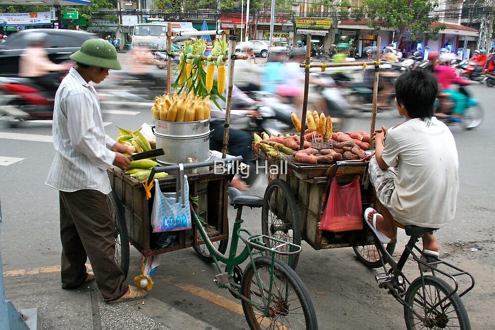 Saigon Street Vendors by Billy Hall