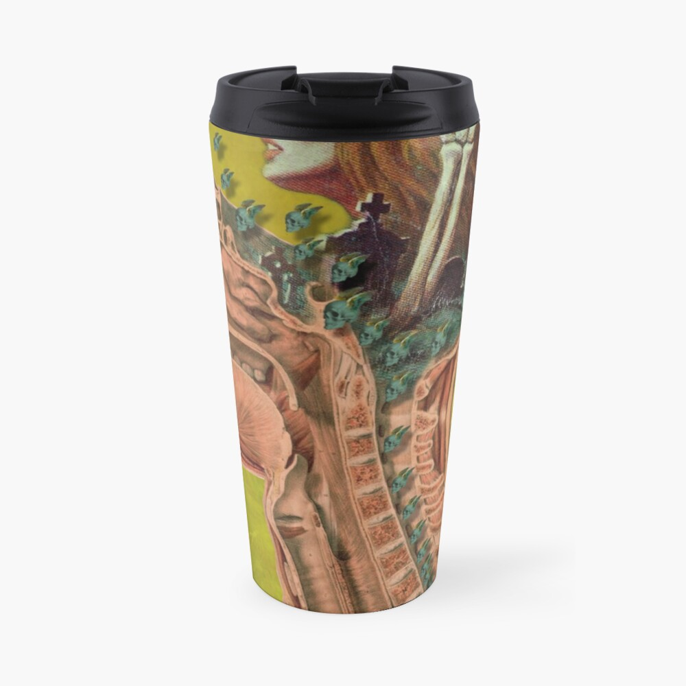Flying skulls Travel Mug