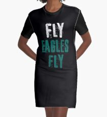 Fly Eagles Fly Graphic T-Shirt Dress