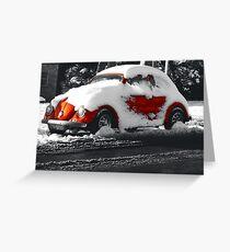 Snowy Brighton Greeting Card