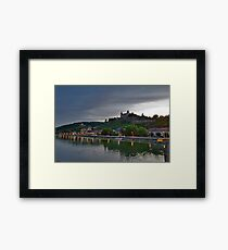 Wurzburg Germany Main River Framed Print