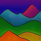 Twilight Mountains by 13KtDesigns