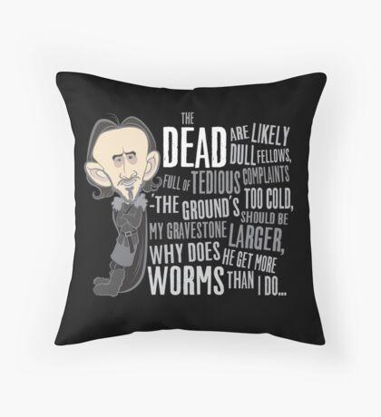 Dolorous Edd Throw Pillow